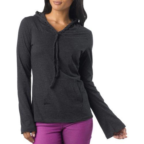 Womens Prana Tanya Long Sleeve Non-Technical Tops - Black M