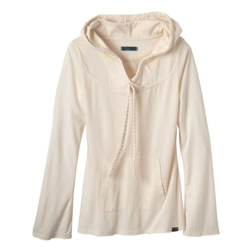 Womens Prana Tanya Long Sleeve Non-Technical Tops - Natural S