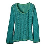 Womens Prana Lisette Top Long Sleeve Non-Technical Tops