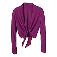 Womens Prana Veeda Wrap Long Sleeve Non-Technical Tops