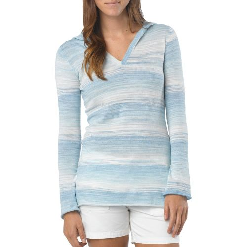 Womens Prana Gemma Sweater Long Sleeve Non-Technical Tops - Azure XL