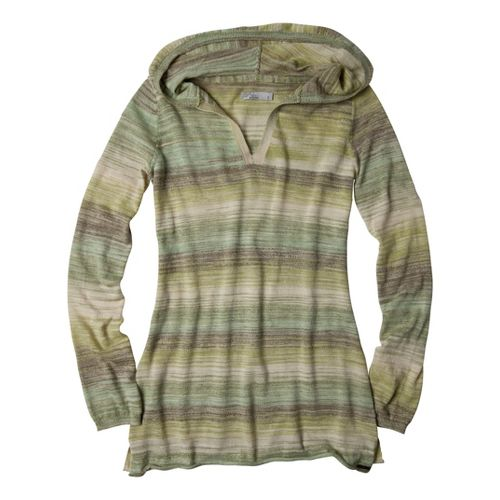 Womens Prana Gemma Sweater Long Sleeve Non-Technical Tops - Sprout XS