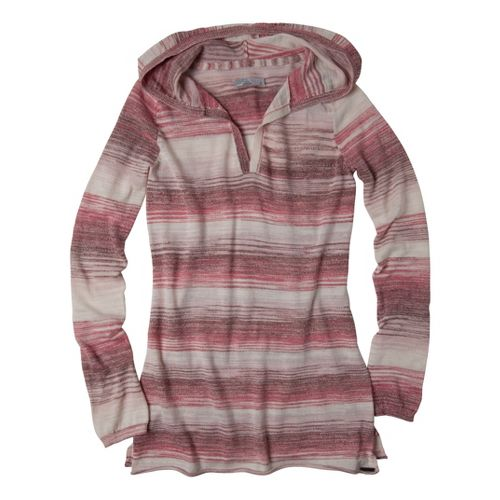 Womens Prana Gemma Sweater Long Sleeve Non-Technical Tops - Tomato XS