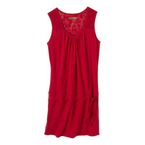 Womens Prana Bree Dress Fitness Skirts - Cardinal S