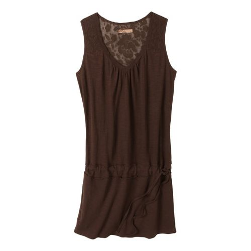 Womens Prana Bree Dress Fitness Skirts - Espresso L