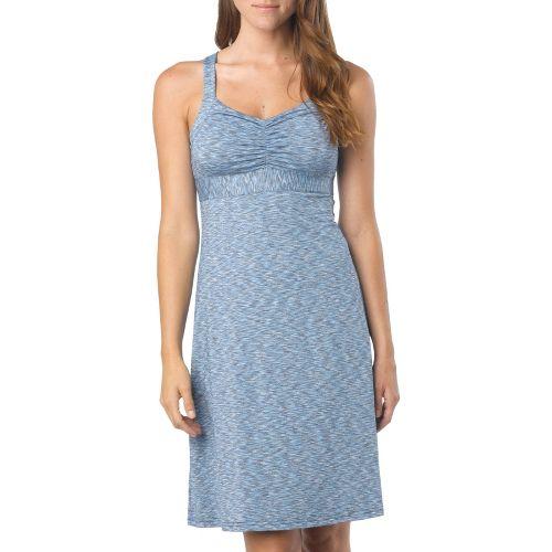 Womens Prana Amaya Spacedye Dress Fitness Skirts - Azure L