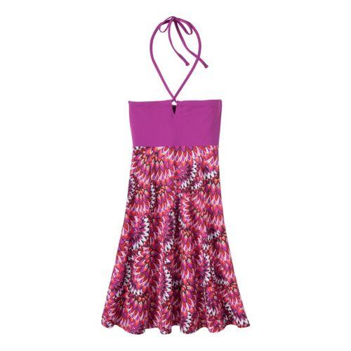 Womens Prana Solana Dress Fitness Skirts - Berry Flora XS