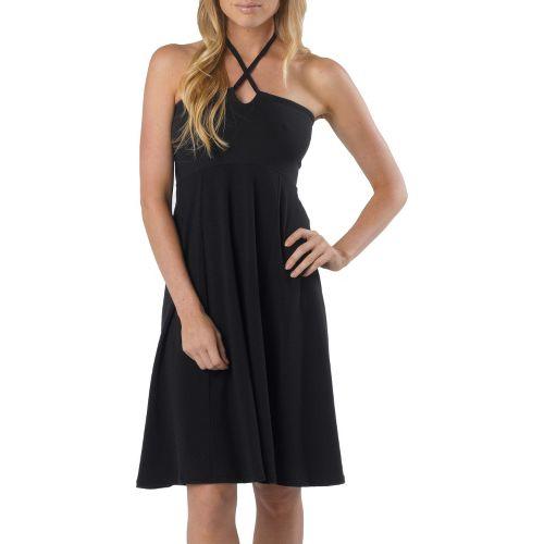 Womens Prana Solana Dress Fitness Skirts - Black M