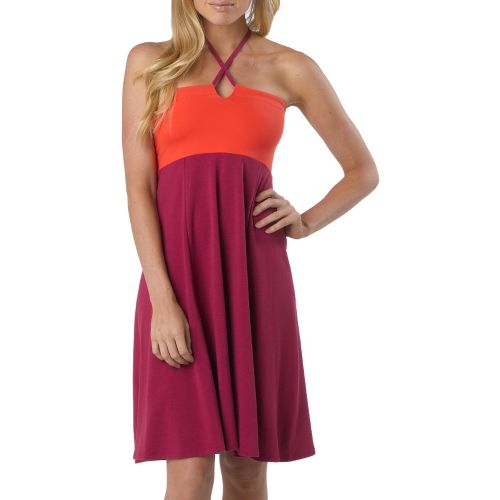 Womens Prana Solana Dress Fitness Skirts - Boysenberry XL