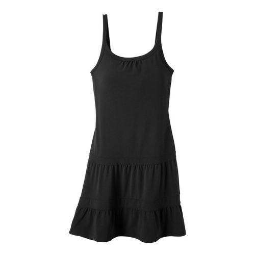 Womens Prana Lexi Dress Fitness Skirts - Black XL