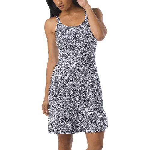 Womens Prana Lexi Dress Fitness Skirts - Black Mayan XS