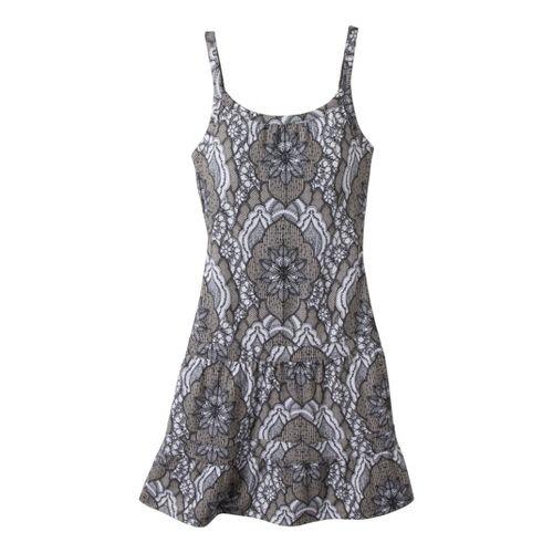 Womens Prana Lexi Dress Fitness Skirts - Opal Scallop L