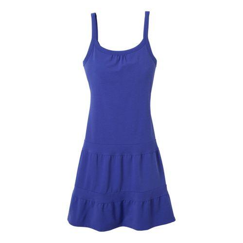 Womens Prana Lexi Dress Fitness Skirts - Sail Blue XL