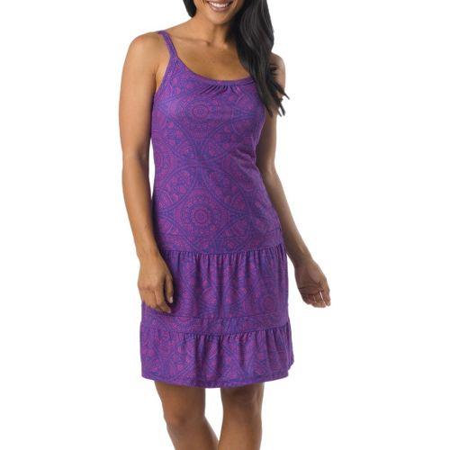 Womens Prana Lexi Dress Fitness Skirts - Sail Blue Mayan S