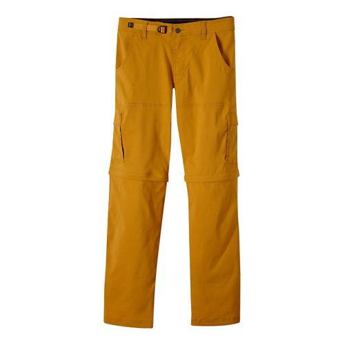 Mens Prana Stretch Zion Convertible Full Length Pants - Sahara S-R