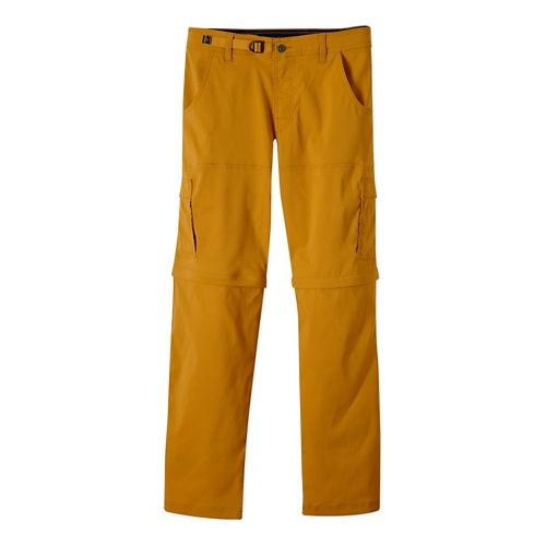 Mens Prana Stretch Zion Convertible Full Length Pants - Sahara XS-T