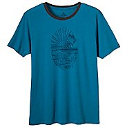 Mens Prana Eco Tee Short Sleeve Non-Technical Tops
