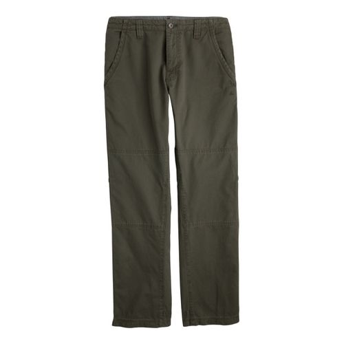 Mens Prana Freemont Full Length Pants - Cargo Green 30