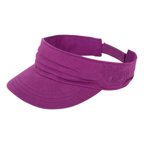Prana Devi Visor Headwear - Summer Plum