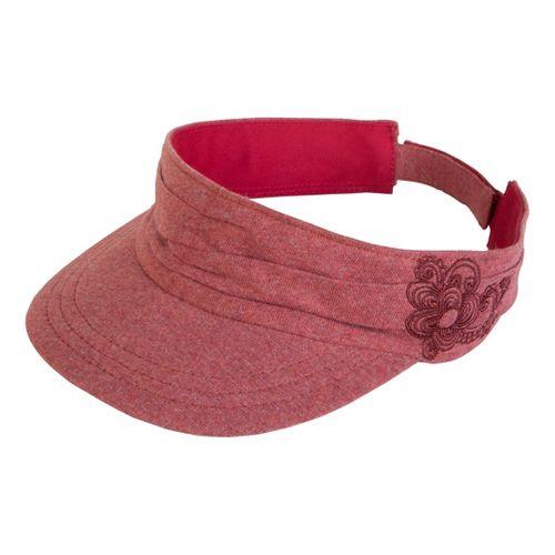 Prana Devi Visor Headwear - Tomato