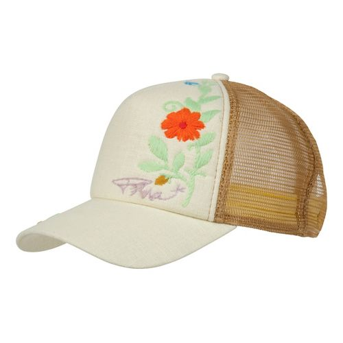 Prana Embroidered Trucker Headwear - Stone