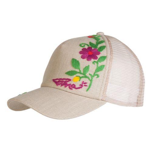 Prana Embroidered Trucker Headwear - Sand