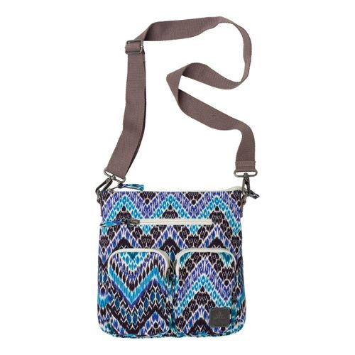 Prana Dakota Medium Zip Pack Bags - Sail Blue Tempo