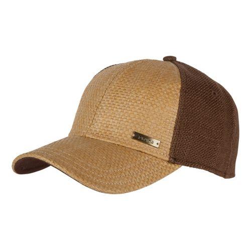 Mens Prana Alfie Ball Cap Headwear - Tan