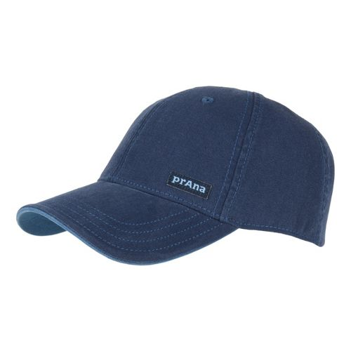 Mens Prana Marr Ball Cap Headwear - Blue Night