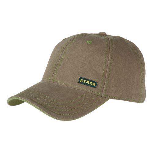 Mens Prana Marr Ball Cap Headwear - Cargo Green