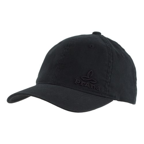 Mens Prana Signature Cap Headwear - Black