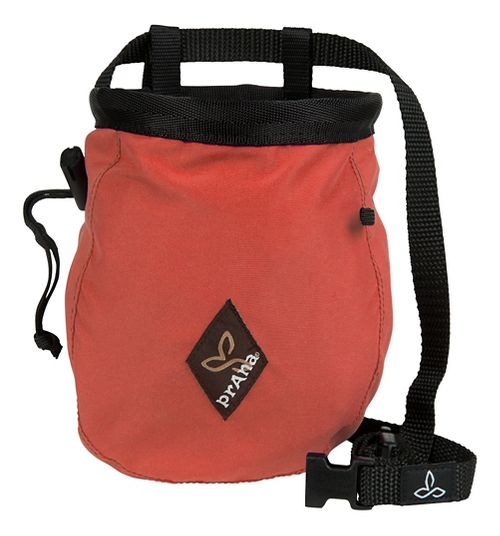 Prana Chalk Bag with Belt Fitness Equipment - Coral