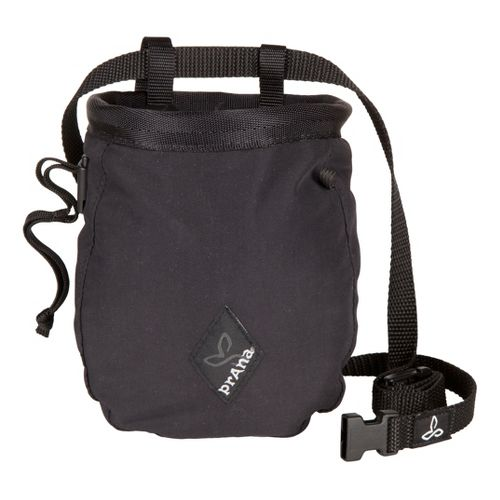 Prana Chalk Bag with Belt Fitness Equipment - Black