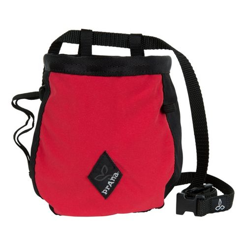 Prana Chalk Bag with Belt Holders - Red