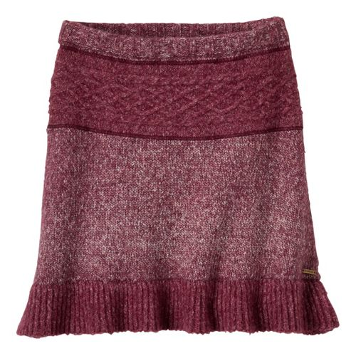 Womens Prana Rena Fitness Skirts - Pomegranate XS