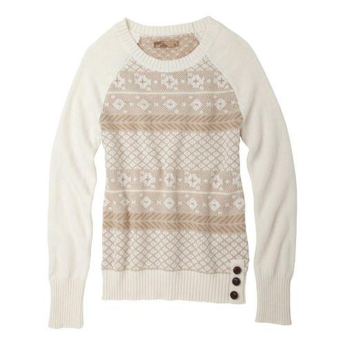 Womens Prana Ramona Sweater Long Sleeve No Zip Technical Tops - Winter XS