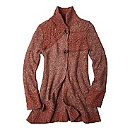 Womens Prana Danika Duster Warm-Up Unhooded Jackets
