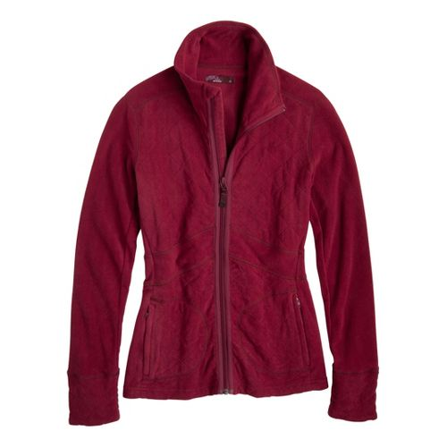 Womens Prana Dee Dee Outerwear Jackets - Plum Red S