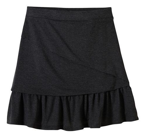 Womens prAna Leah Fitness Skirts - Black XL
