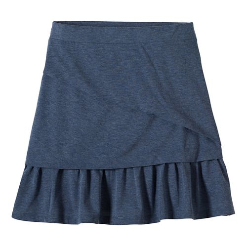 Womens prAna Leah Fitness Skirts - Grey XS