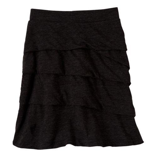 Womens Prana Leah Fitness Skirts - Black L