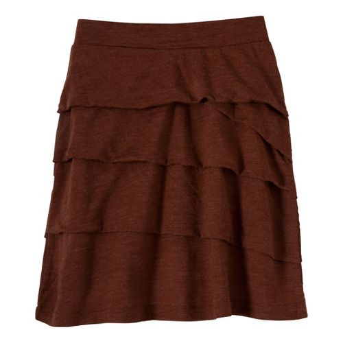 Womens Prana Leah Fitness Skirts - Terracotta L