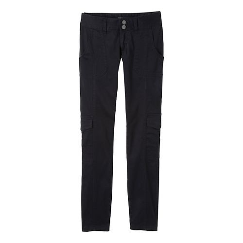 Womens Prana Elena Full Length Pants - Black OS
