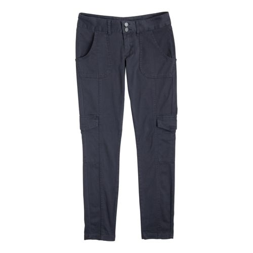 Womens Prana Elena Full Length Pants - Coal 2