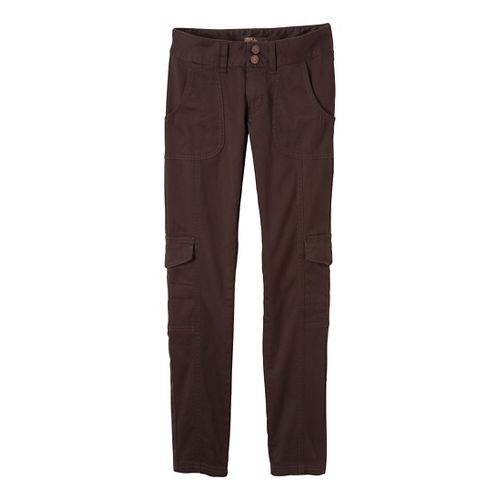 Womens Prana Elena Full Length Pants - Espresso 14