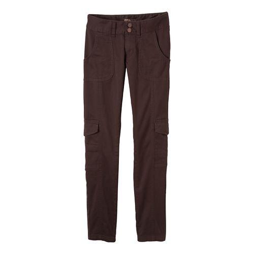 Womens Prana Elena Full Length Pants - Espresso 6