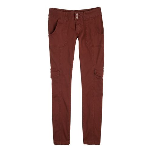 Womens Prana Elena Full Length Pants - Terracotta 12