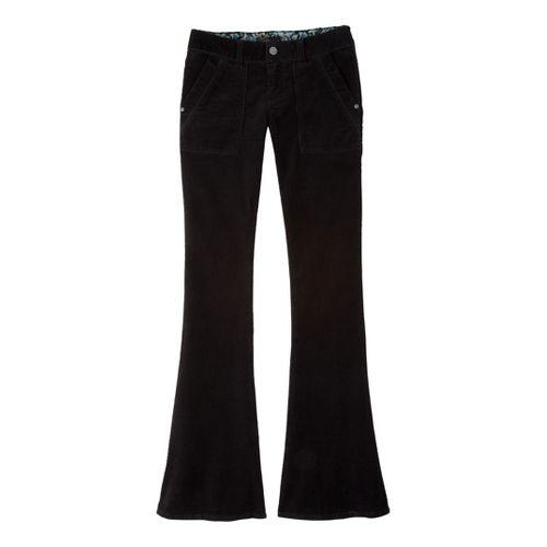 Womens Prana Adelle Cord Full Length Pants - Black 16