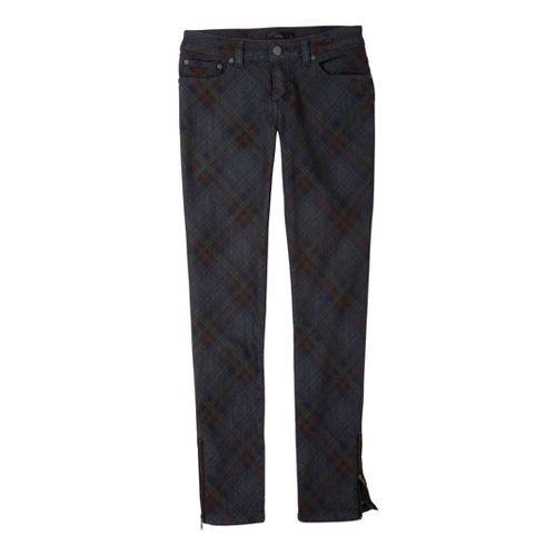 Womens Prana Jett Jean Full Length Pants - Denim 10