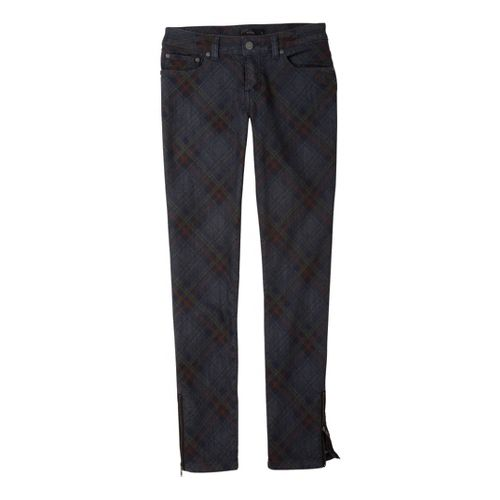 Womens Prana Jett Jean Full Length Pants - Denim 4